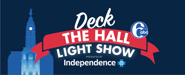 Deck the Halls Light Show presented by Independence Blue Cross